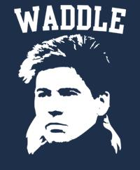 Chris Waddle, cult idol…